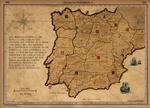 Iberian Peninsula in 1705