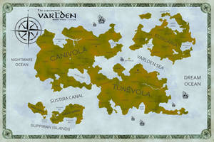 The Continents of VARLDEN by AndrewScrolls
