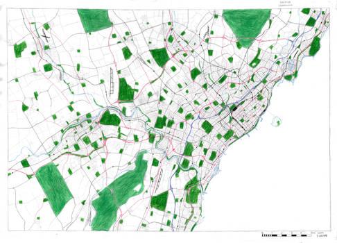 Cedartown Street Map