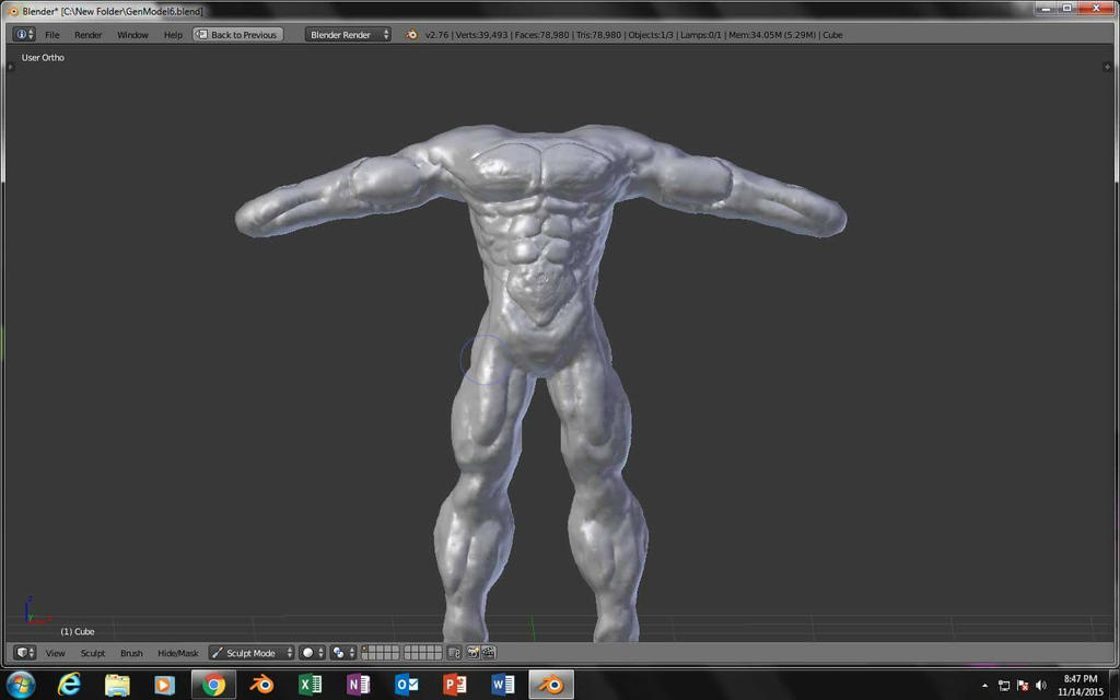 Gen body by Mugen893