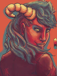 Ladies with Horns are Sexy