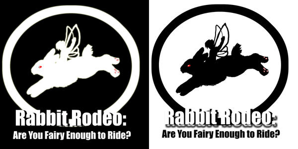 Rabbit Rodeo Tshirts by ChristianKitsune