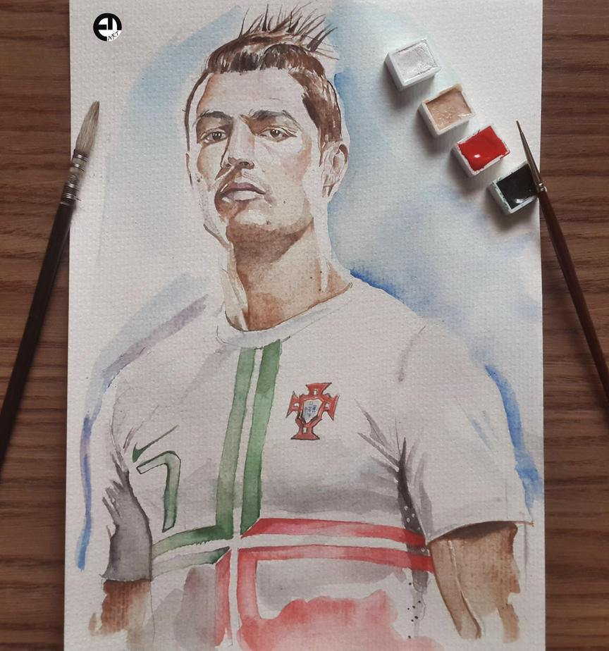 How to draw cristiano ronaldo