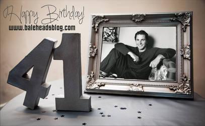 Happy 41st birthday, Christian Bale!