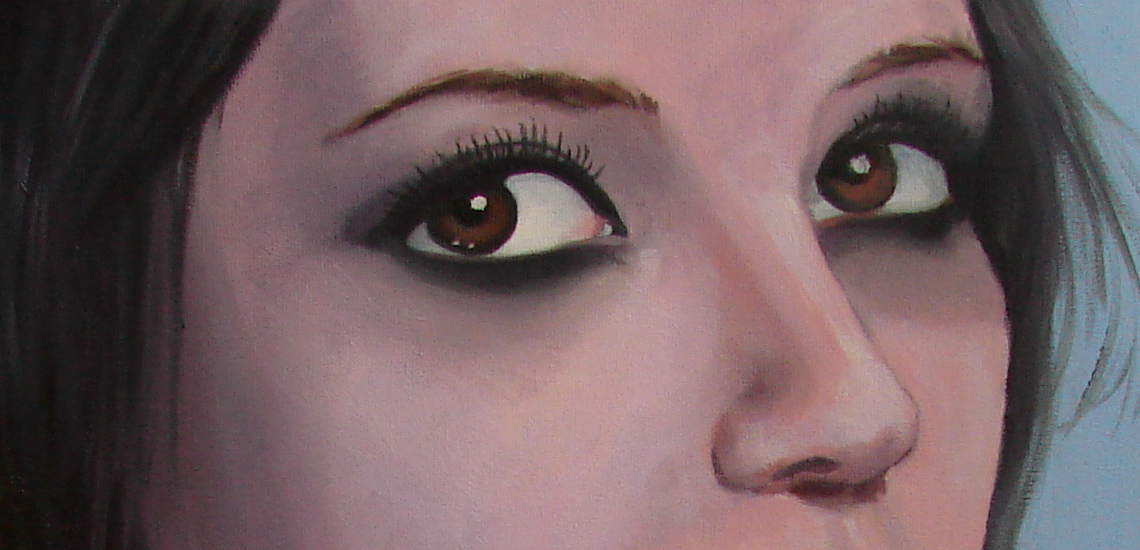 eyes detail by EmberRoseArt