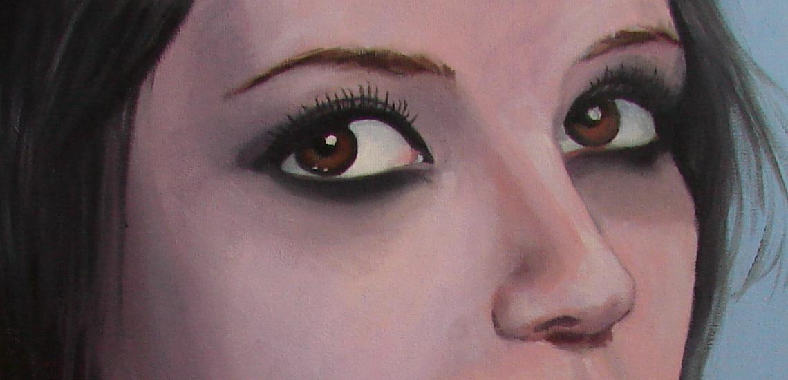 eyes detail by EmberRoseArt