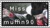 missmuffin90 stamp by EmberRoseArt