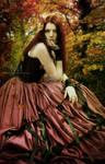Autumn Queen Portrait