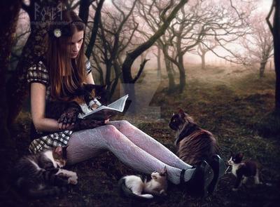 The Storyteller by EmberRoseArt