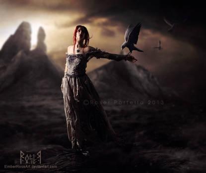 Spirit of the Darks by EmberRoseArt