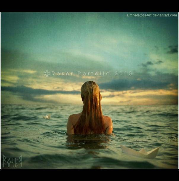 Adrift by EmberRoseArt