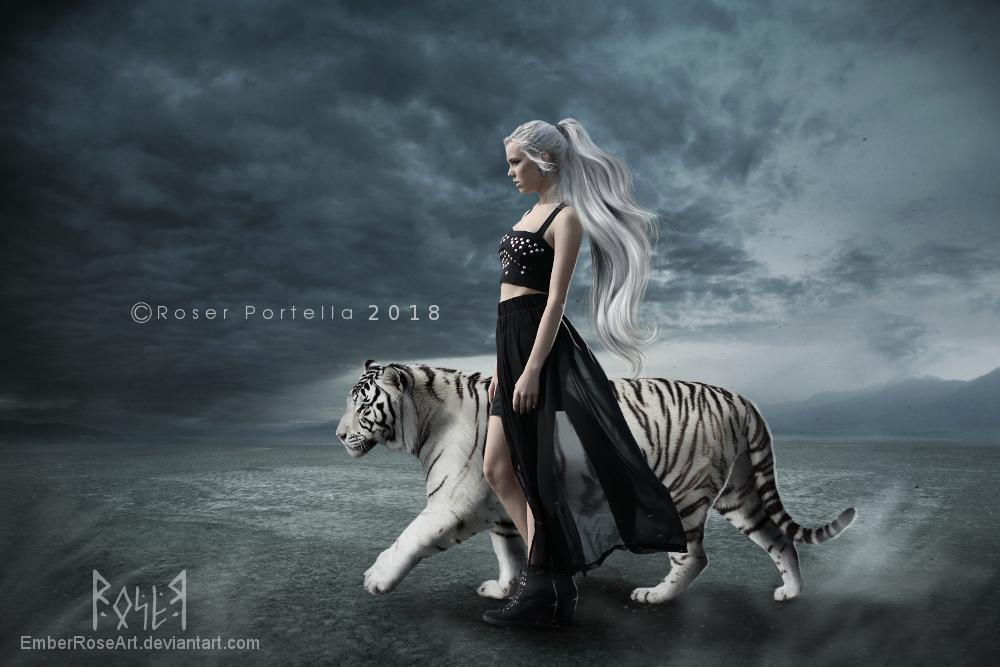 Fierce by EmberRoseArt