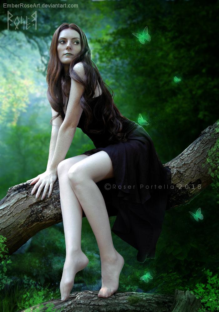 Laica wilwarin by EmberRoseArt