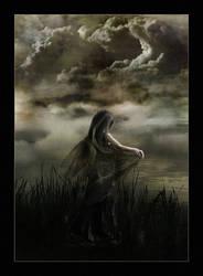 Dark veil spreading over me by EmberRoseArt