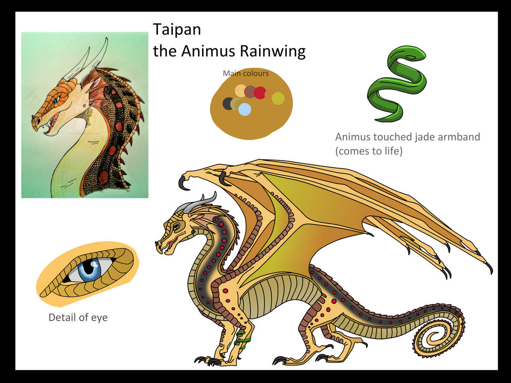 Taipan Character Page by ZombieKiller52