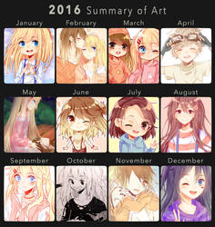 2016 Art Summary