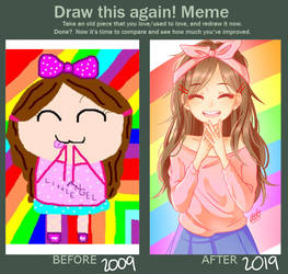 Draw it Again! Meme 2.0