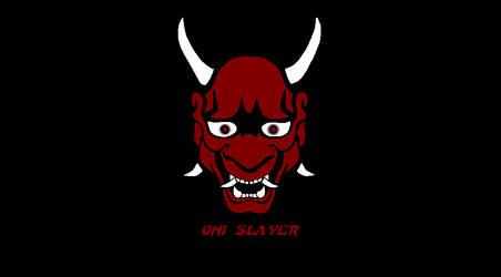 Oni Slayer Logo Prototype