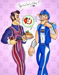 LazyTown - Sports Candy Cake