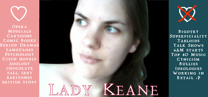 LadyKeane's Profile Picture