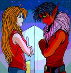 Staredown by Kasumi - coloured