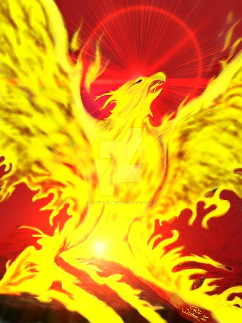 Phoenix Rising by WatchTower513