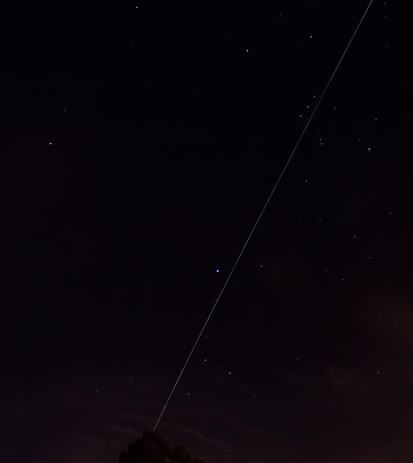 ISS and Orion by WatchTower513