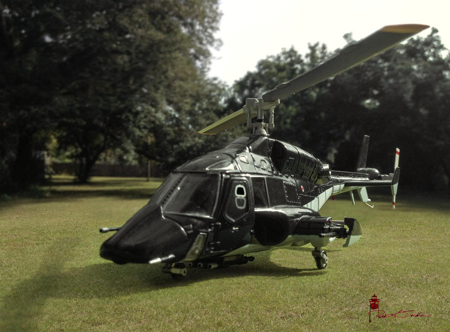 Airwolf (Forced Perspective) by WatchTower513