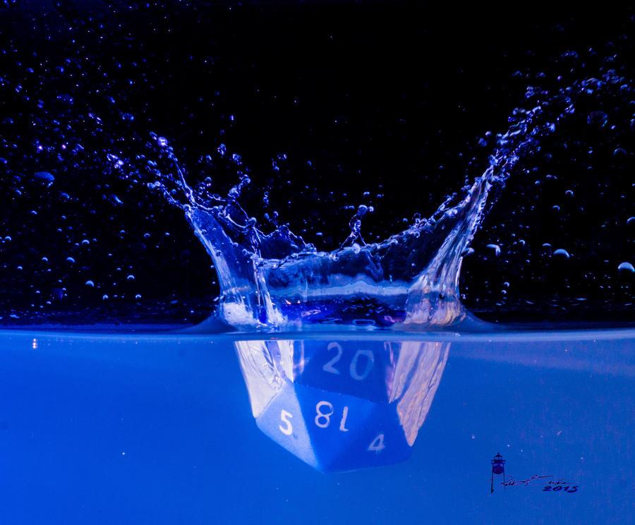 Die 20 Splash by WatchTower513