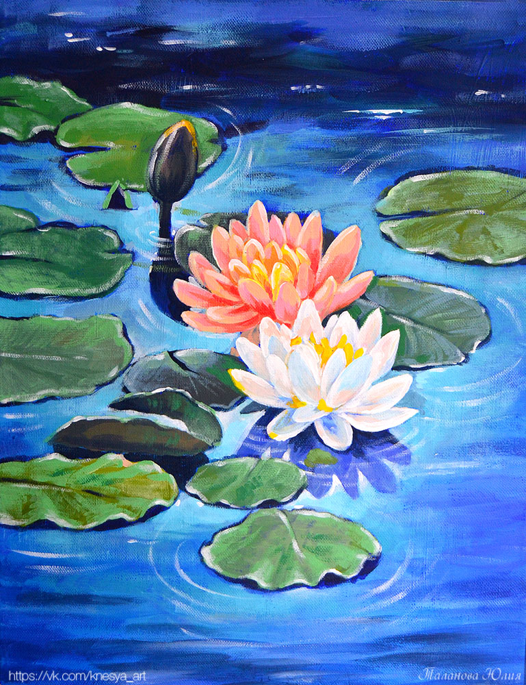 Water Lilies by Knesya27