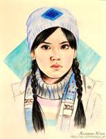 Cho Chang. Harry Potter by Knesya27