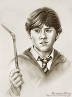 Ron Weasley by Knesya27