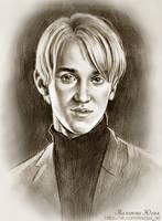 Draco Malfoy by Knesya27