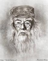 Professor Albus Dumbledore by Knesya27