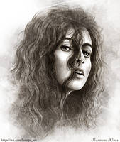 Bellatrix Lestrange by Knesya27