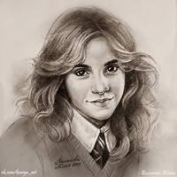 Hermione Granger by Knesya27