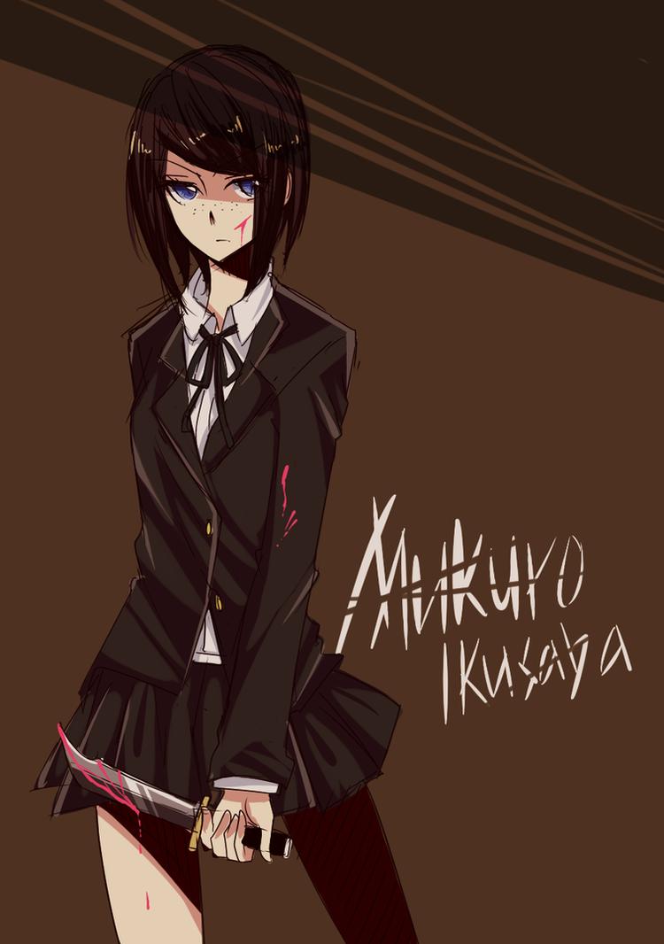 Ikusaba Mukuro by Raeyxia
