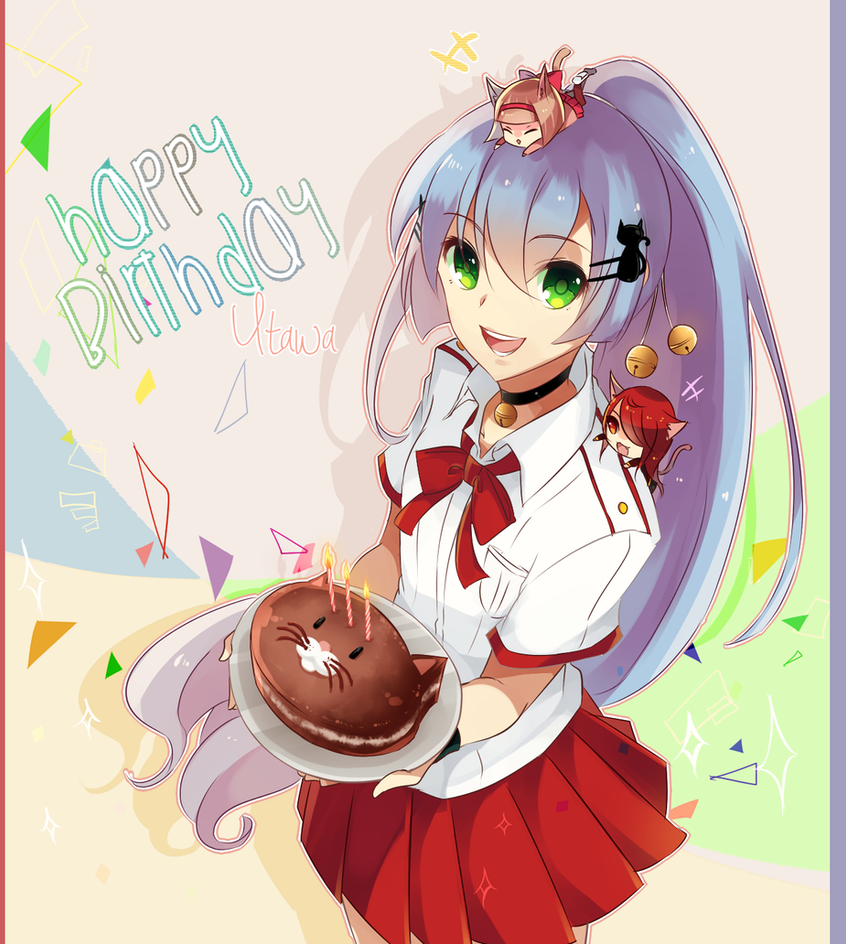 Happy Birthday Utawa! by Raeyxia on DeviantArt