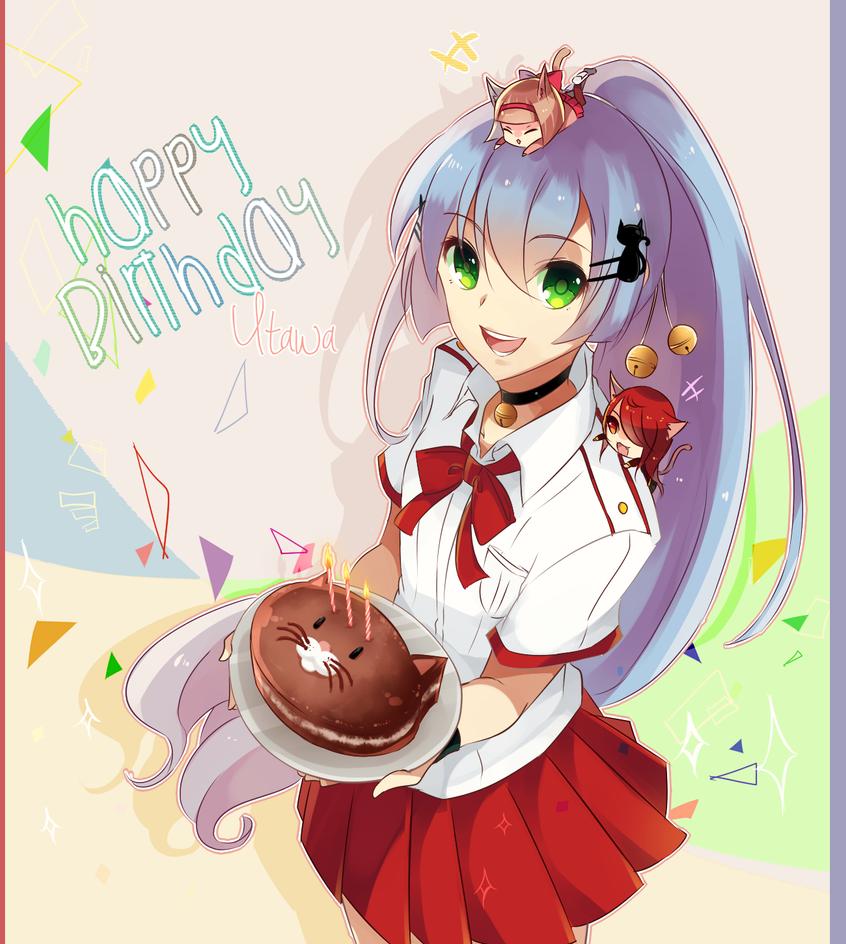 Happy Birthday Utawa! by Raeyxia on DeviantArt