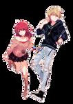 Scarlet + Mamoru