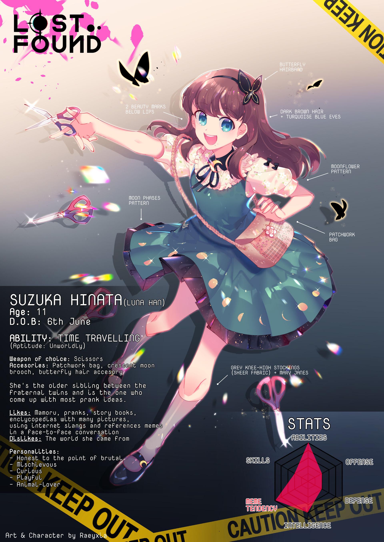OC: Suzuka Hinata (2020) + SPEEDPAINT
