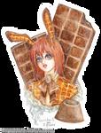 Chocolate Waffle Bunny