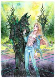 Jackal and Tage by Lucifer-Krusnik00