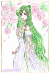 Princess of the Green Moon by Lucifer-Krusnik00