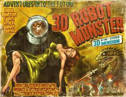 3D Robot Monster