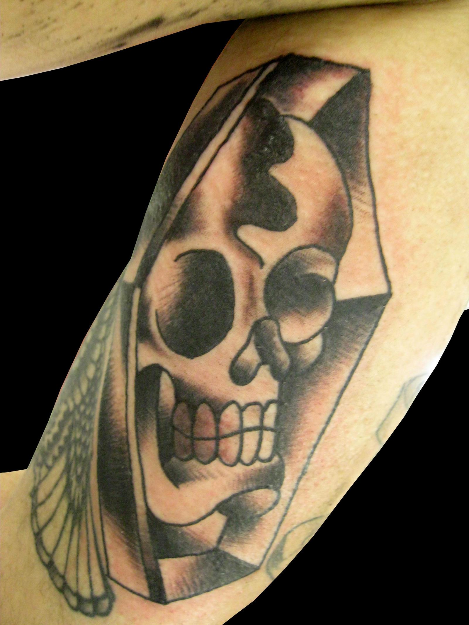 Skullcoffin by ChadGrimm