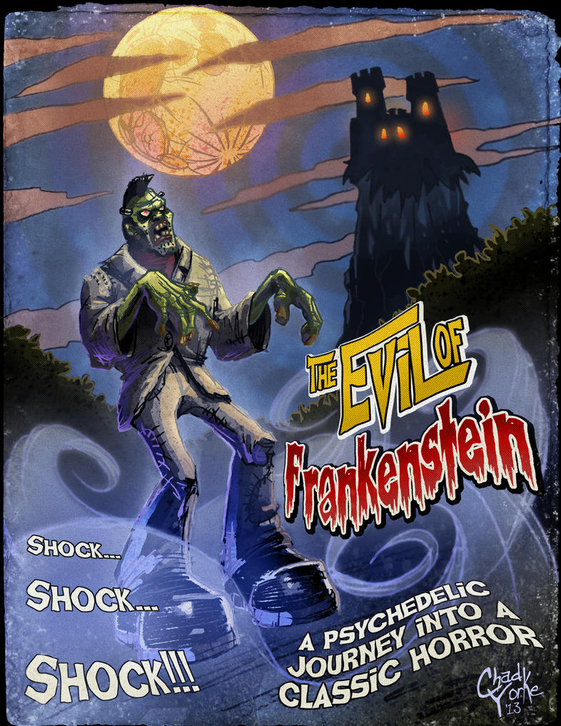 The Evil of Frankenstein by ChadGrimm