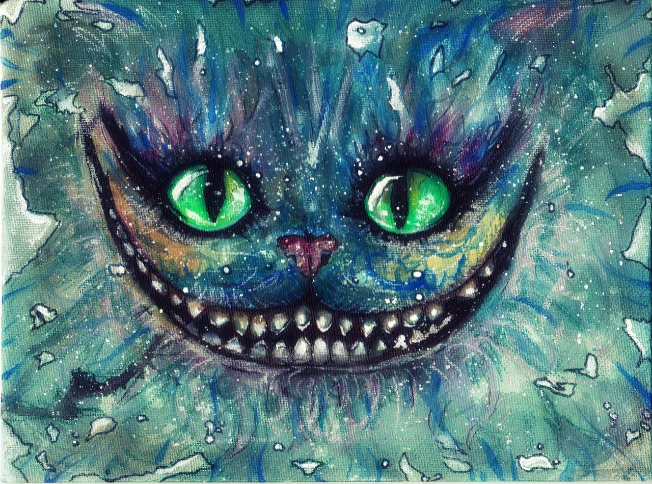 grinsekatze grinning cat by asurabella on deviantart. Black Bedroom Furniture Sets. Home Design Ideas