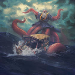 Octopus Monk