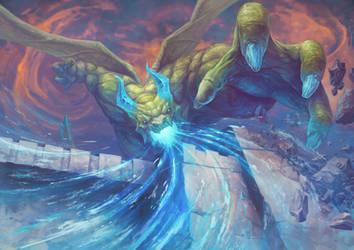 Ice Dragon by Peyeyo